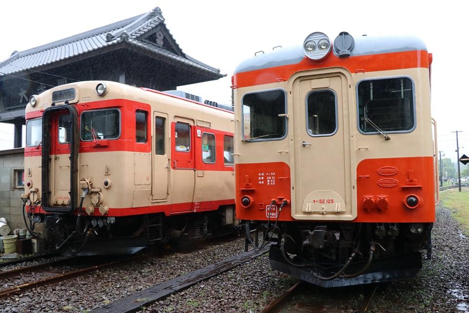 いすみ鉄道 キハ52 お披露目撮影会