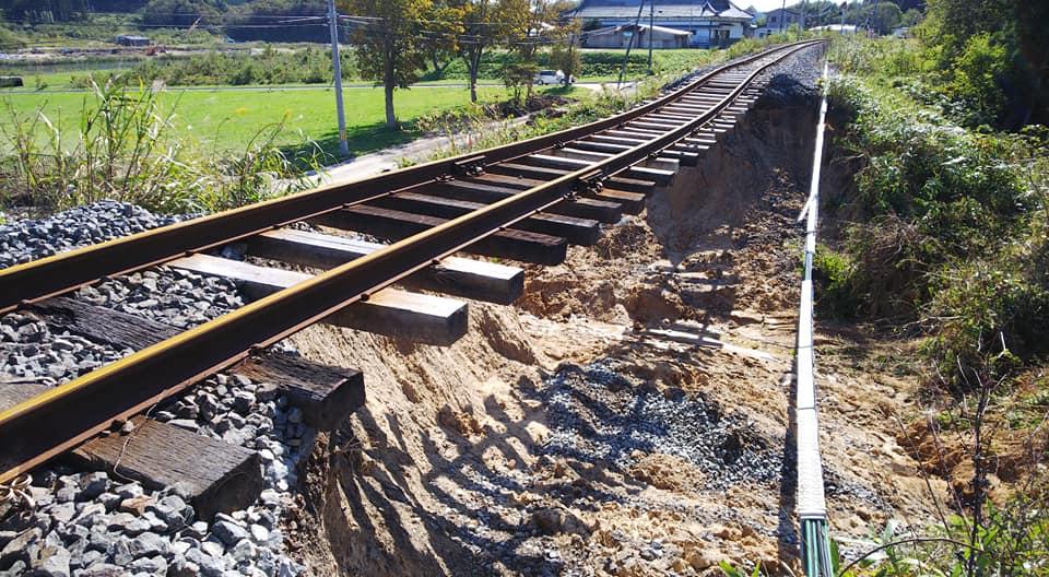 三陸鉄道がたいへんです。