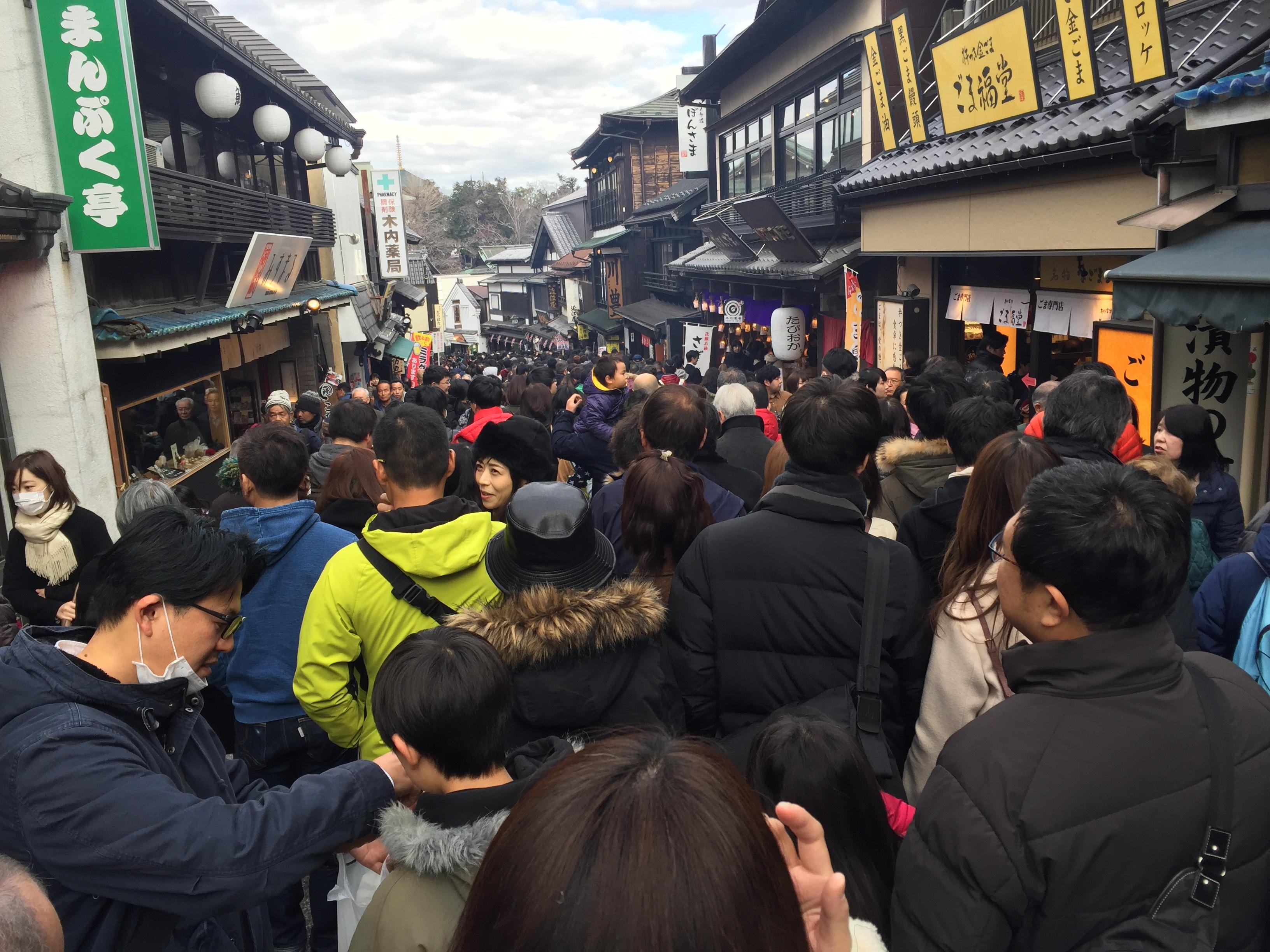 1月2日のブログ 初詣のはしご