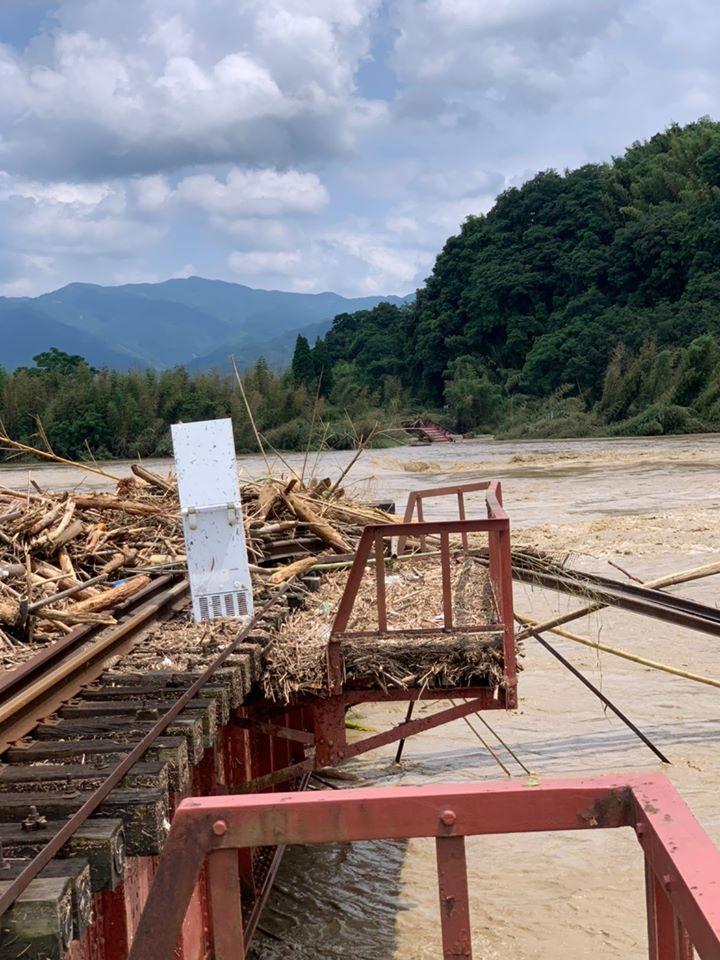 熊本県のくま川鉄道の状況について