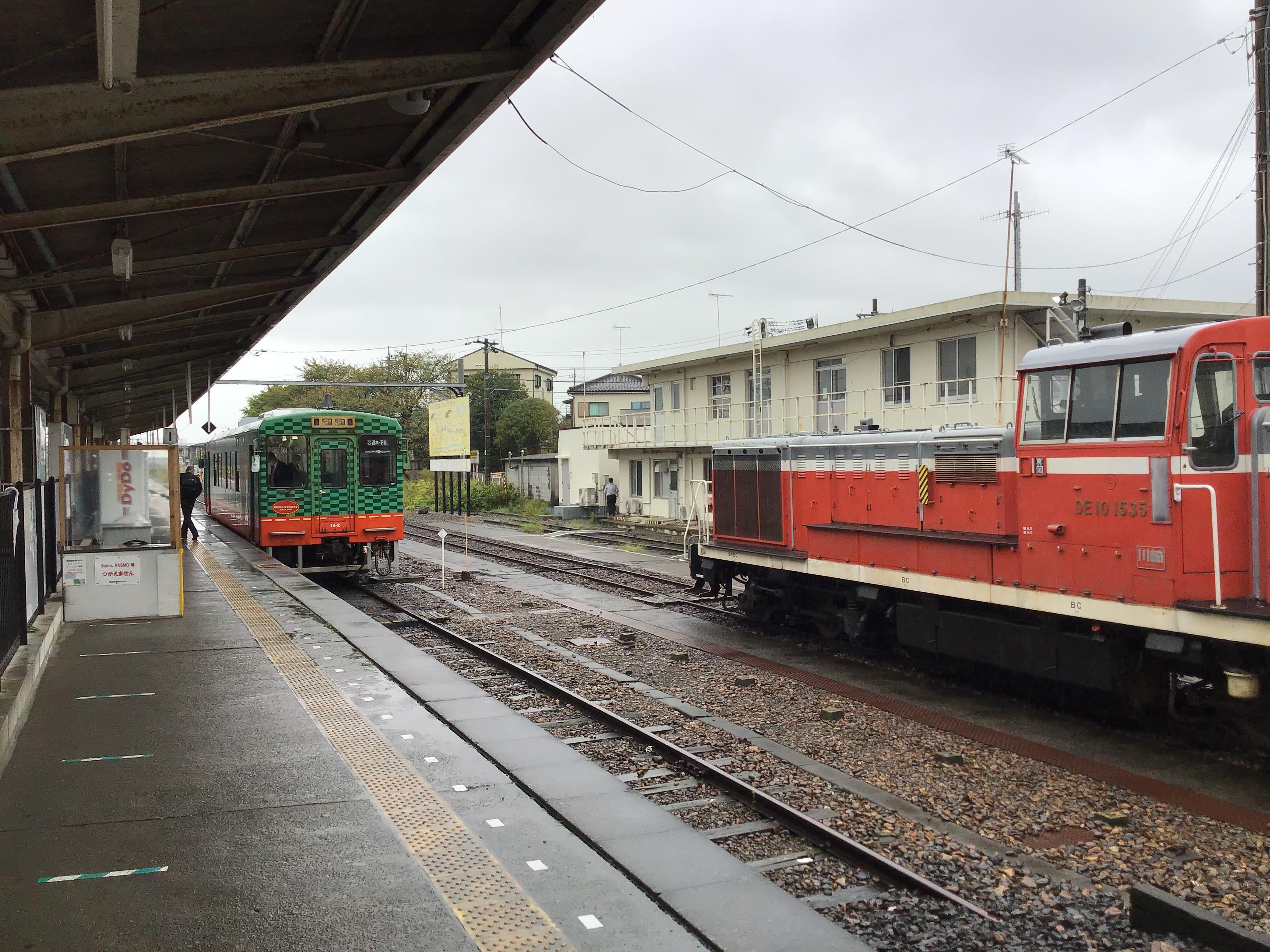 本日は真岡鉄道さんにお邪魔しました。