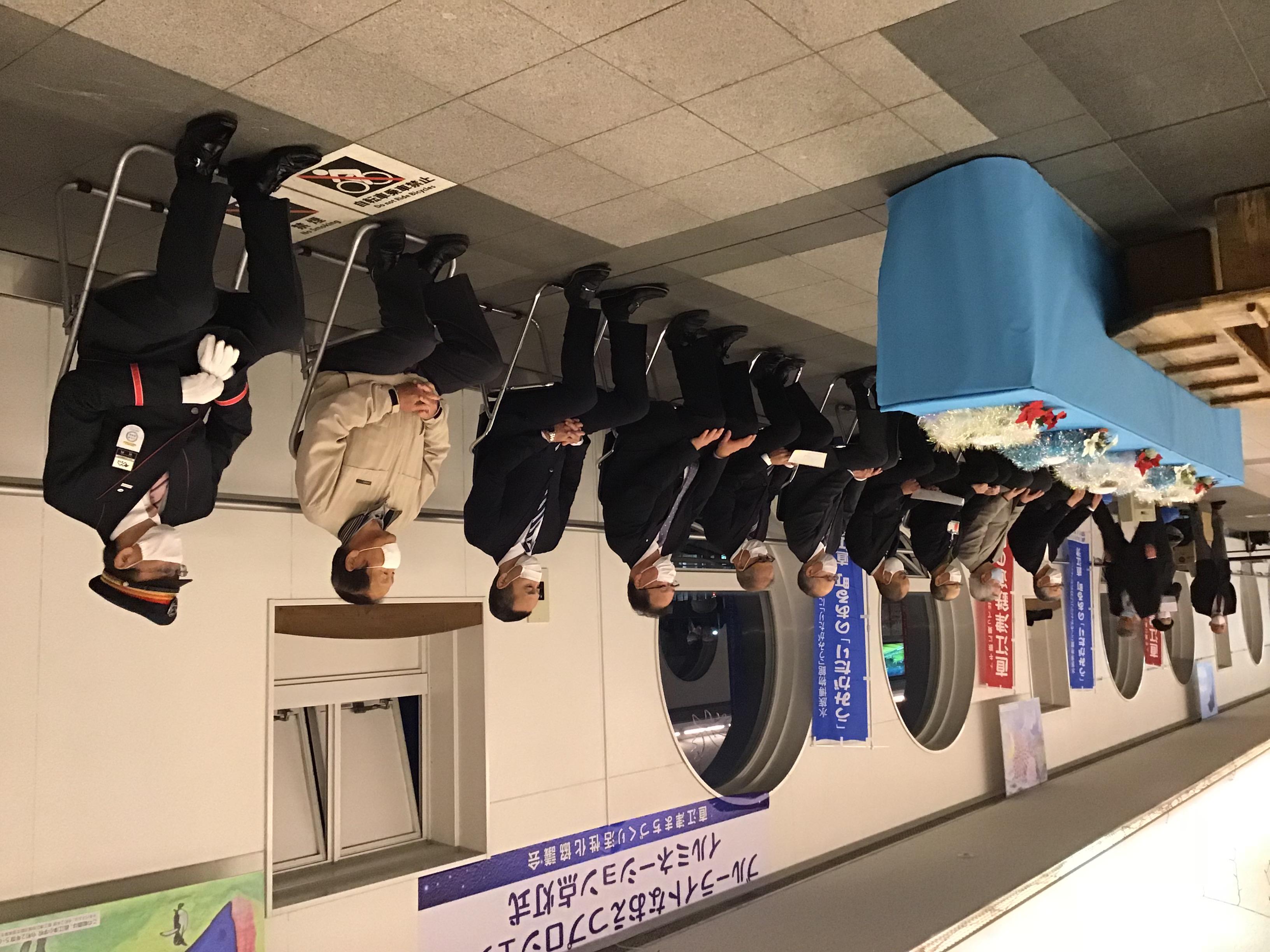 直江津駅イルミネーション点灯式