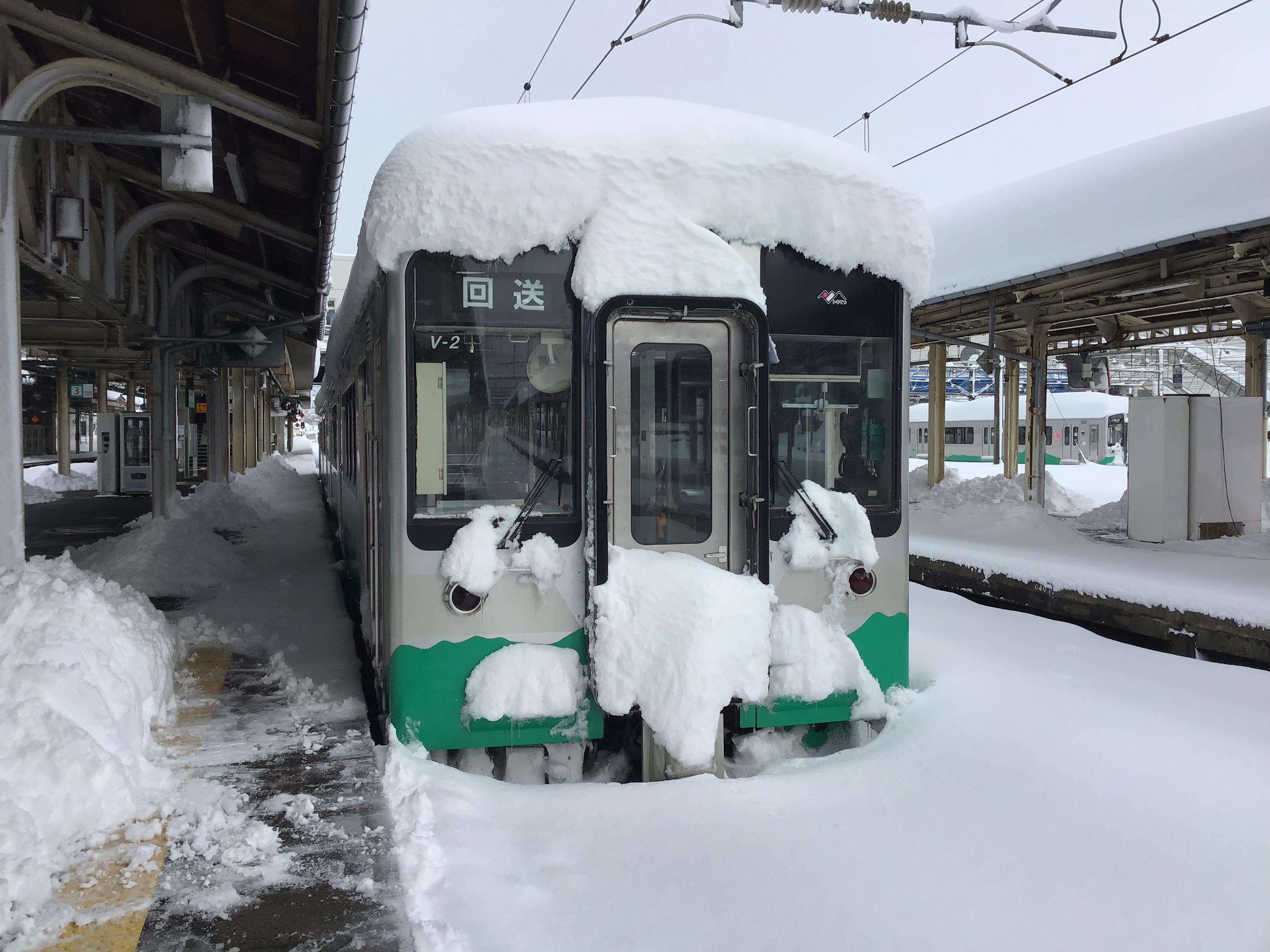 大雪 4晩目