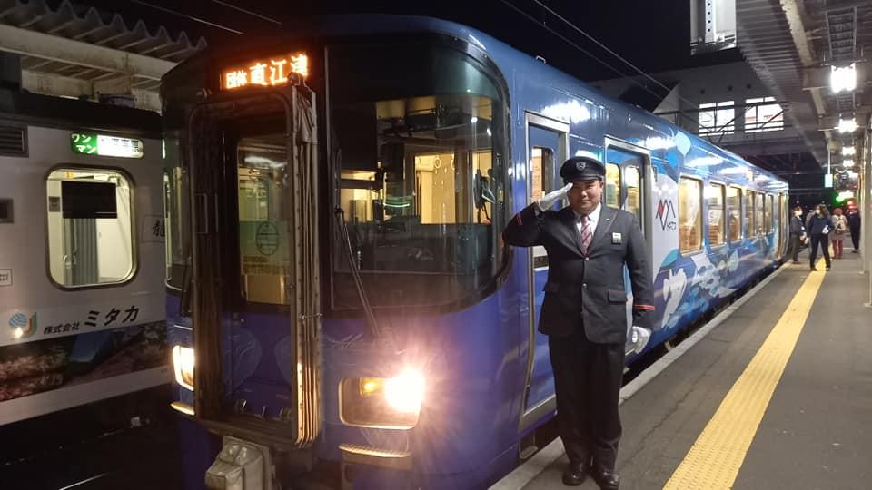 今夜は夜行列車運転中。