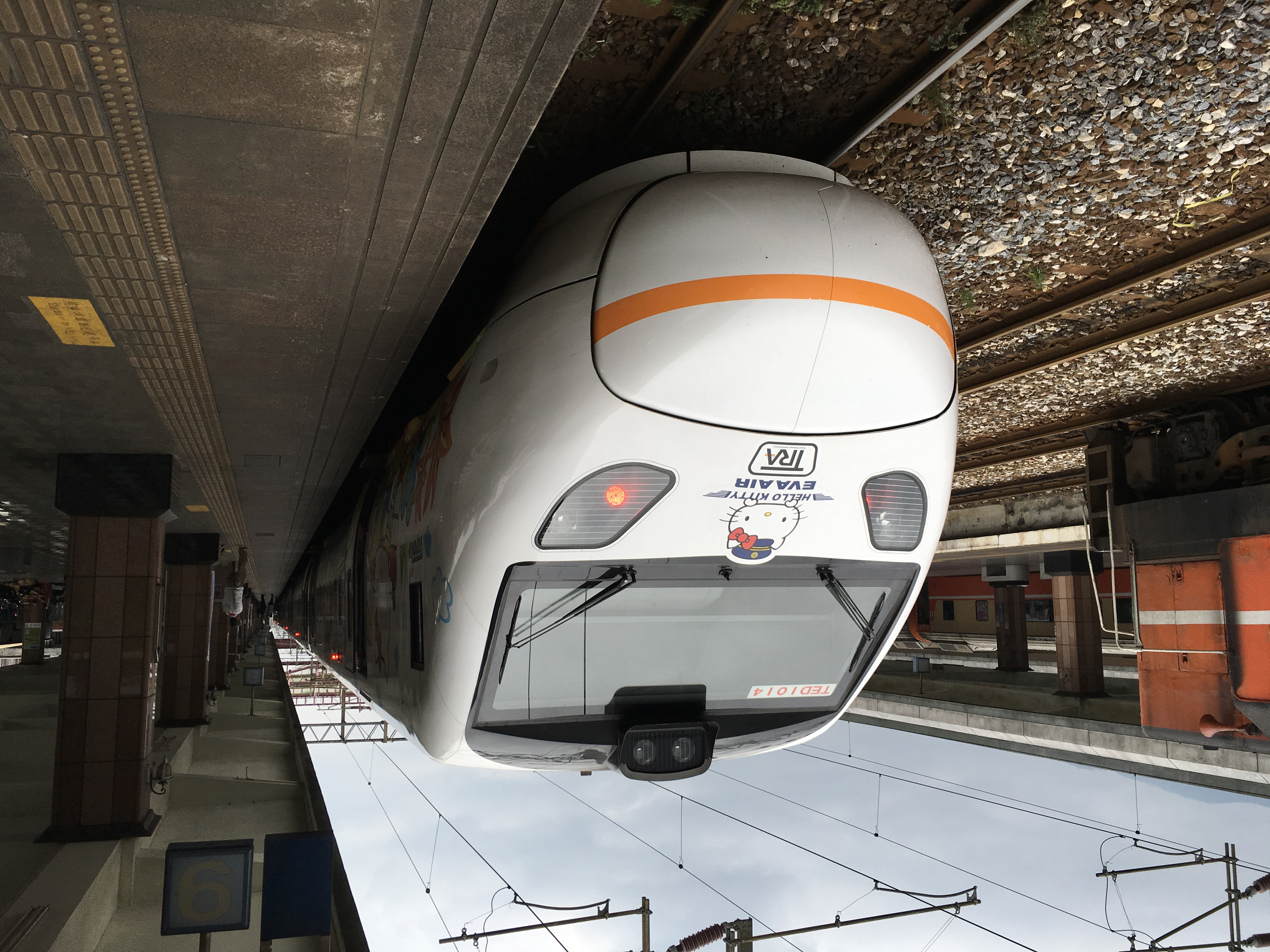 台湾で列車事故