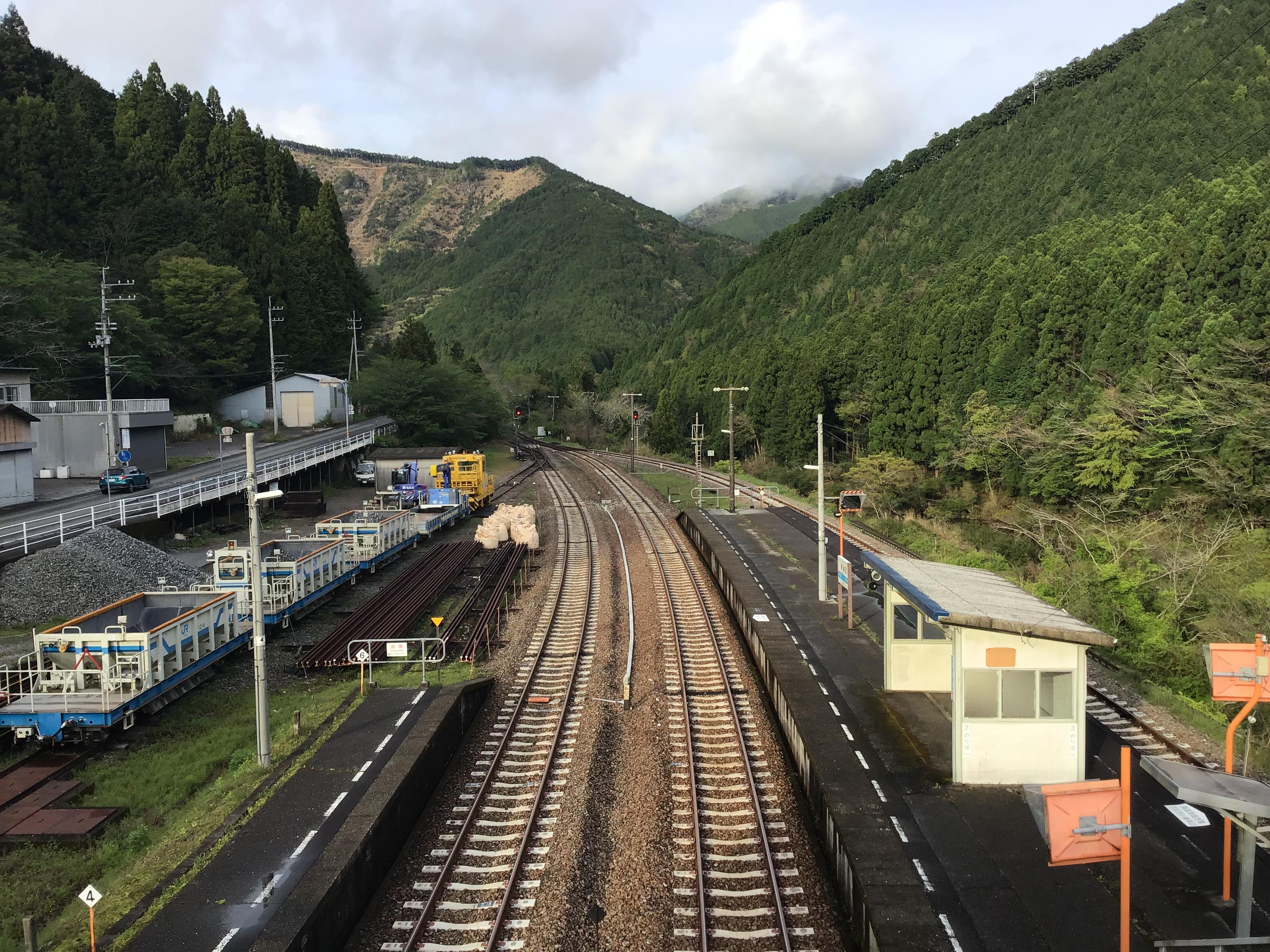 土讃線 繁藤駅